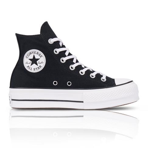 Converse Women s Chuck Taylor All Star Lift High Black Sneaker d171760f6
