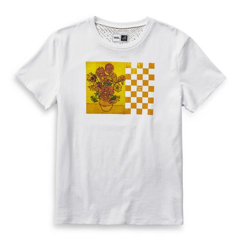 d9cc11f6711 Vans x Van Gogh Museum Women s Sunflower Boyfriends T-Shirt
