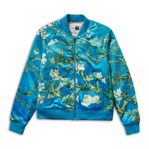 7e6ac97e23e7 Vans x Van Gogh Museum Women s Almond Blossom Bomber Jacket