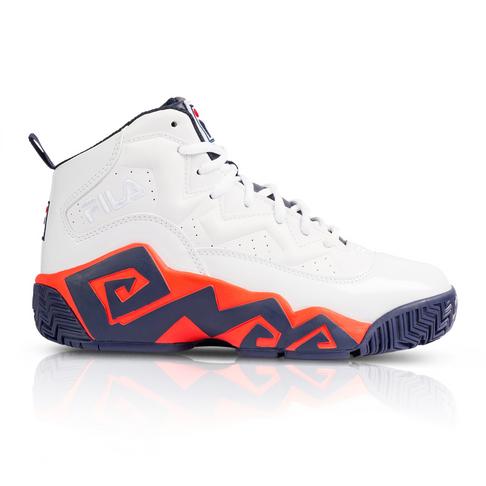eb8bbfebe816 Fila Men s MB Navy Red Sneaker