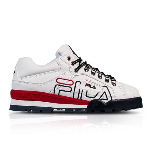 aaa366b8944 Fila Men's Trailblazer White Sneaker