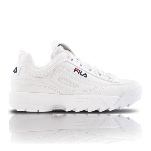 8f09c1fa0c5 Fila Women's Disruptor II White Sneaker