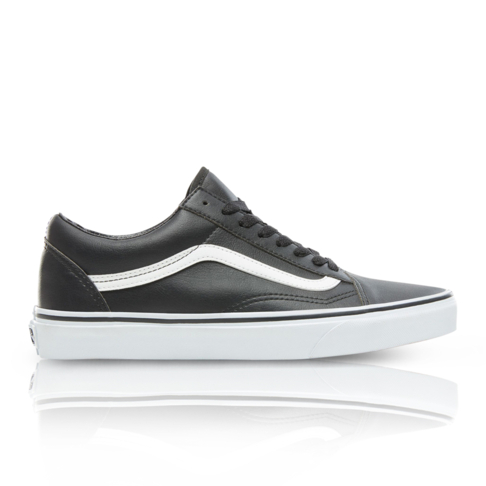 ce83726daf Vans Men s Classic Tumble Old Skool Black White Sneaker