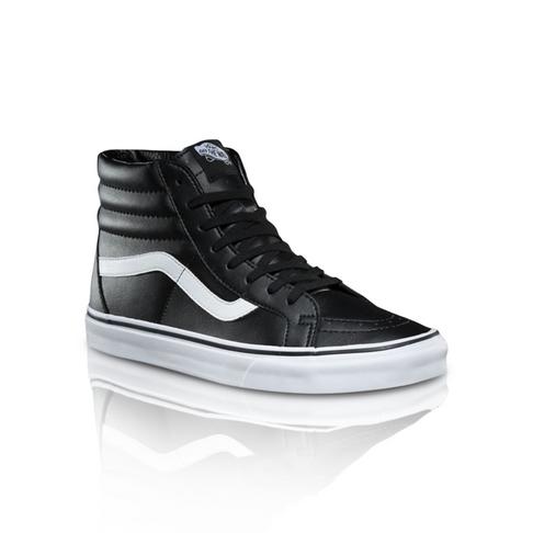 268a9018c81b Vans Men s Classic Tumble SK8-HI Resissue Black White Sneaker