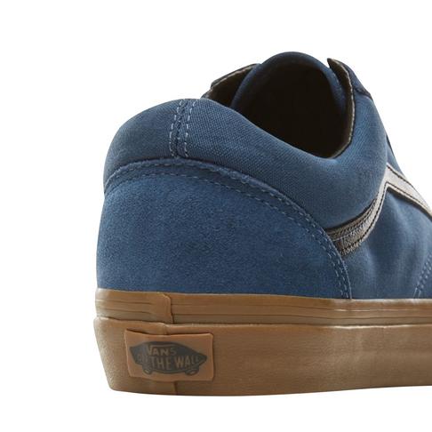 ed5177c2c7 Vans Men s Old Skool Suede Gum Outsole Navy Sneaker