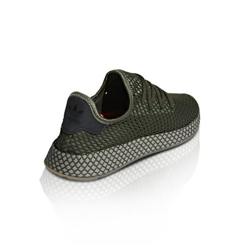 6c32241725ca2 adidas Originals Men s Deerupt Runner Mono Green Sneaker