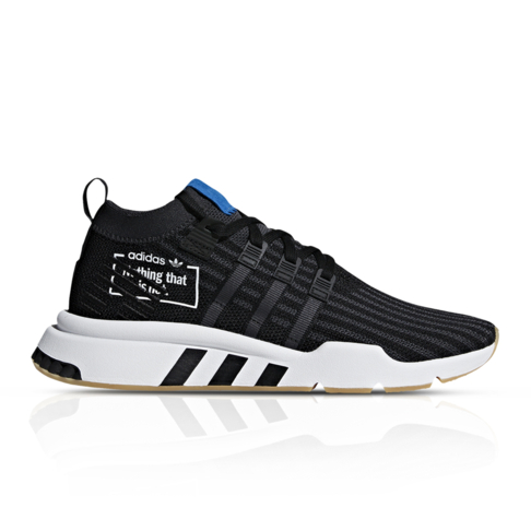 on sale 39508 5145e adidas Originals Men's EQT Support Mid ADV Black/Blue Sneaker