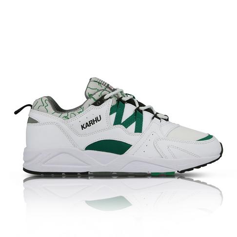 super popular e357e 45e10 Karhu Men's Fusion 2.0 White/Green Sneaker
