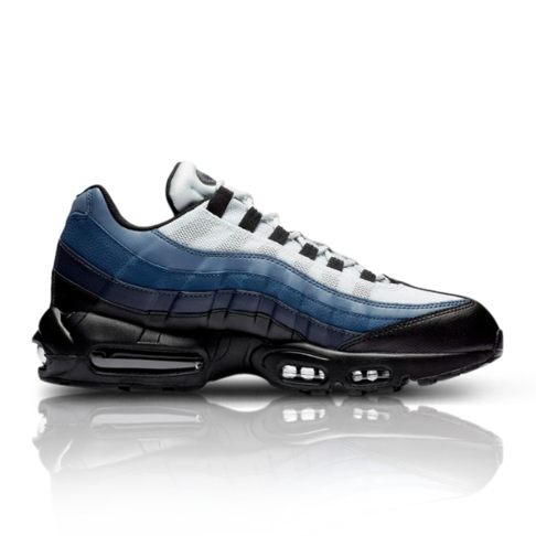 the latest 6646e 649fc Nike Men's Air Max 95 Essential Black/Navy Sneaker