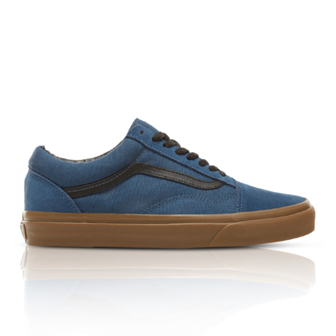 d8e7dd70e760 Vans Junior Suede Gum Outsole Old Skool Navy Sneaker