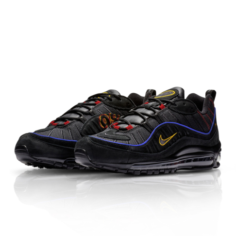 3fd3039e7a Nike Men's Air Max 98 Black Sneaker