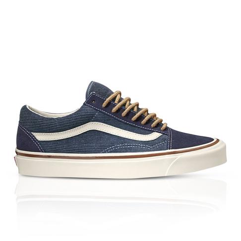 636fed3879d Vans Men s Old Skool 36 DX Anaheim Factory Navy Sneaker