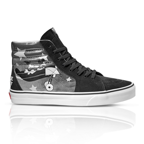 14d1cfedccd Disney x Vans Mickey Mouse 90th Anniversary Women s SK8-HI Black Sneaker