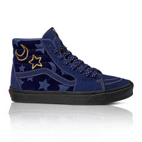 af2faca0eb88 Disney x Vans Mickey Mouse 90th Anniversary Women s SK8-HI Navy Sneaker