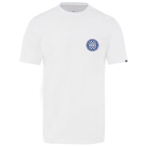 a9b58718 Vans Men's White Checker Co. Short Sleeve T-Shirt