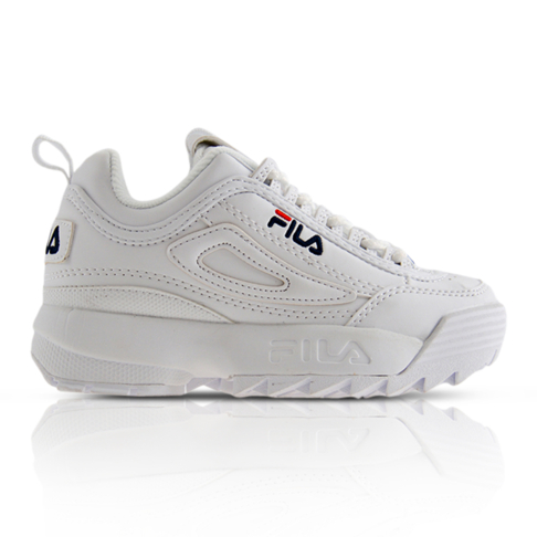 33f14f969bc1 Fila Kids Disruptor II White Sneaker