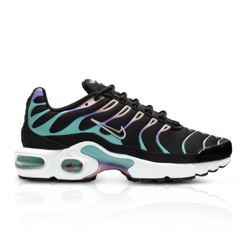 separation shoes b88d0 67acc Nike Junior Air Max Plus 'Have A Nike Day' Black/Purple Sneaker