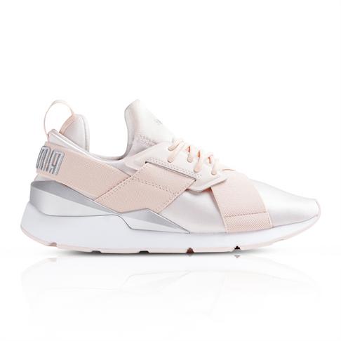 selezione migliore 48c24 dba61 Puma Women's Muse Satin Pink Sneaker