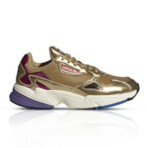 adidas Originals Women s Falcon Gold Sneaker 96de460a53