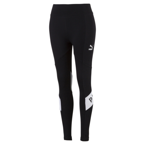 c8ea0476525b43 PUMA XTG Women's Black/White Leggings