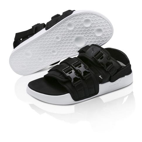 Puma Men s Leadcat YLM 19 Black Sandal a0e592cf5