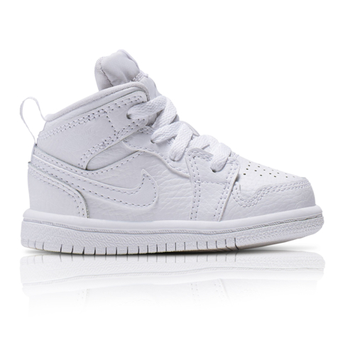 pretty nice 0d1da 9fd7e Air Jordan Toddlers 1 Mid White Sneaker