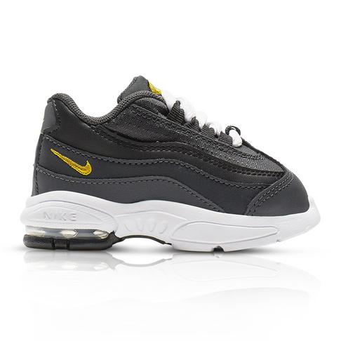en soldes e0e3c 9ddd3 Nike Toddlers Air Max '95 Black/Grey Sneaker