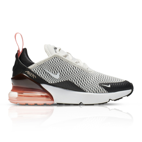 wholesale dealer fdf27 024e7 Nike Kids Air Max 270 Grey/Red Sneaker
