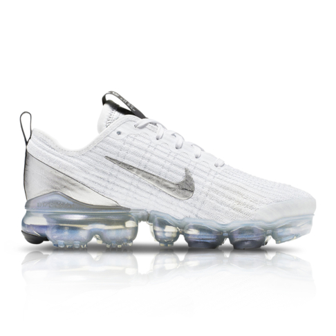 on sale 5cc0b 928db Nike Junior Air Vapormax Flyknit 3 White Sneaker