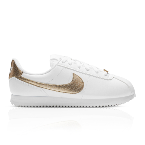 more photos de6d4 233dc Nike Junior Cortez Basic SL EP White/Gold Sneaker