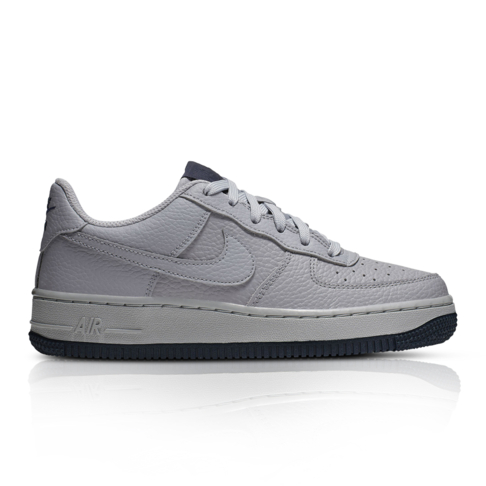 4ff2b5fc4a5 Nike Junior Air Force 1 Grey/Blue Sneaker