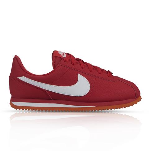 detailed look b7519 82568 Nike Junior Cortez Basic SL Red Sneaker