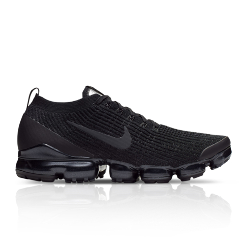 the latest 454e6 d928b Nike Men's Air VaporMax Flyknit 3 Black Sneaker