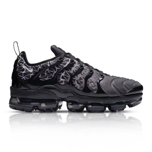 more photos 80075 da316 Nike Men's Air VaporMax Plus Black Sneaker