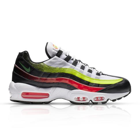 92d55cc209 Nike Men's Air Max 95 SE 'Volt Pack' Black Sneaker