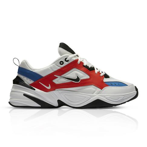 nowe tanie świetne dopasowanie nowy przyjazd Nike Men's M2K Tekno White/Orange Sneaker