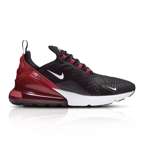 hot sale online 5589d e8958 Nike Men's Air Max 270 Black/Red Sneaker