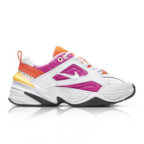 przedstawianie spotykać się najniższa zniżka Nike Women's M2K Tekno White/Pink Sneaker