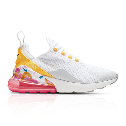 new product 36103 851ef Nike Women's Air Max 270 SE Floral White Sneaker