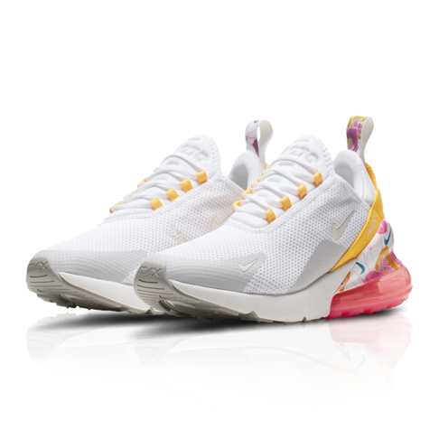 new product f1bbb 0d779 Nike Women's Air Max 270 SE Floral White Sneaker
