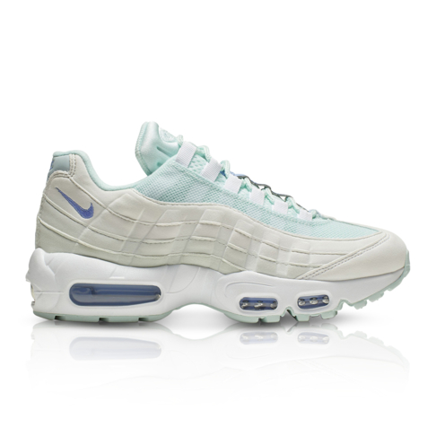 order online best selling hot products Nike Women's Air Max 95 White/Blue Sneaker