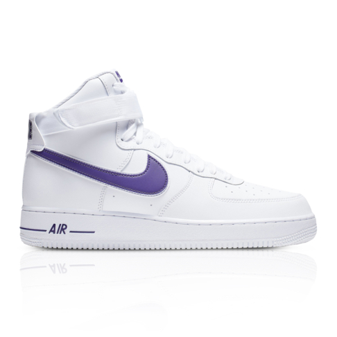 finest selection 5c81f c8c7a Nike Men's Air Force 1 High '07 3 White/Purple Sneaker