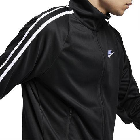 83facedc1 Nike Sportswear N98 Men's Black Knit Warm-Up Jacket