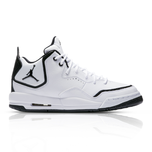 info for 08cf5 218d7 Jordan Junior Courtside 23 White Black Sneaker