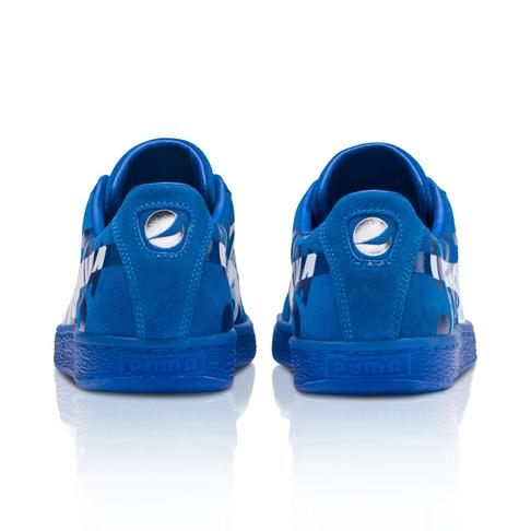 on sale 93003 91a82 Puma x Pepsi Men's Suede Classic Blue Sneakers