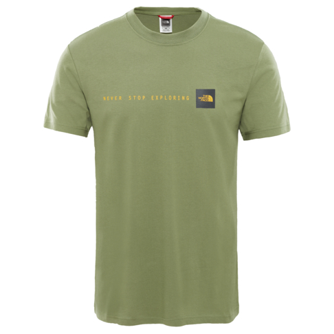 5d1f0f3b5839 The North Face Men s Khaki Short Sleeve NSE T-Shirt