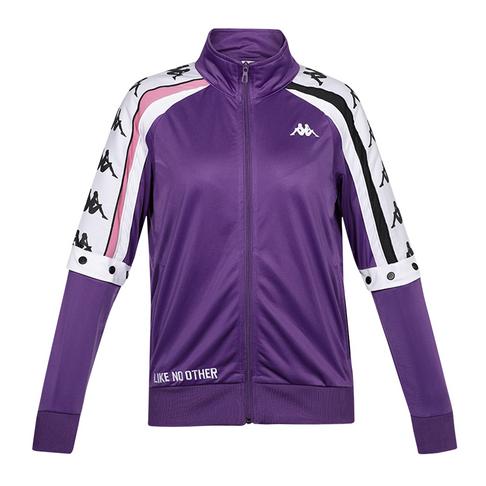b52ecc55 Kappa Women's Violet/White Authentic Jacket