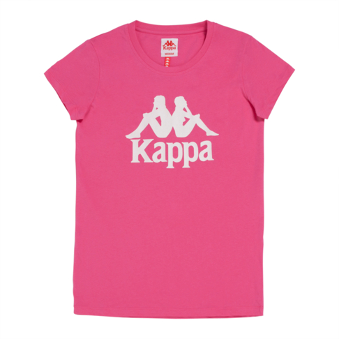 c0ee32615c KAPPA WOMEN'S FUSCHIA/WHITE AUTHENTIC WESTESSI T-SHIRT