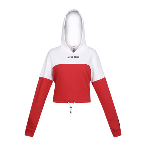 2fadc50d Kappa Women's Like No Other White/Red Hoody
