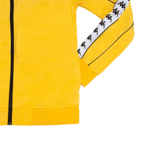 cf59c7be04 KAPPA Men's Yellow 222 Banda Merez Slim Track Top